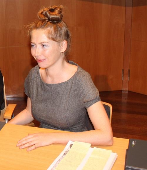 Human Rights Lawyer Hermine Hayes-Klein