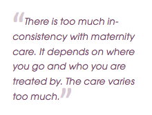 From the Listening to Mothers III Survey